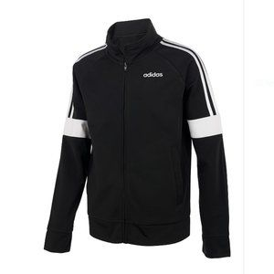 adidas Event Front Zip Jacket in black size XL
